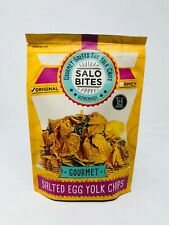 Salo Bites Salted Egg Chips, 125g, Spicy Flavor (pack of 1)