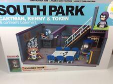 McFarlane South Park Construction Sets Cartman Kenny Token Cartman's Basement