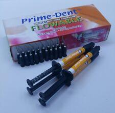 VLC Light Cure Composite Flowable 4 Syringes Kit A2 Exp:06/2020