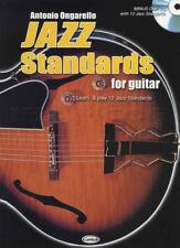 CARISCH Jazz Standards For Guitar +Cd *NEUF*