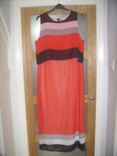 Screen Printed Red Maxi Dress size 18