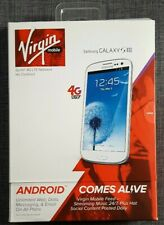 Samsung Galaxy S3 Virgin Mobile Sprint 4G LTE Network As Is/Parts Only