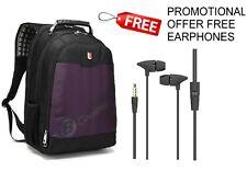 """Purple  17"""" Laptop Backpack with Tablet/ eReader Pocket  - 2057"""