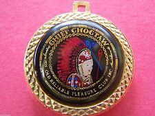 Rare 1978 Choctaw HAPPINESS IS Multi-Color Double-Laminated Mardi Gras Charm
