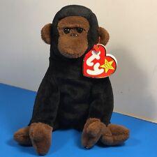 1996 Beanie Babies Vintage Plush Stuffed Animal Retired Ty Tag Congo Monkey Ape