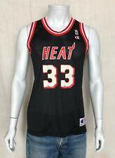 VTG 90s Champion Alonzo Mourning Jersey Miami Heat #33 NBA  Size XL youth USA