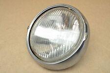 Vintage Honda CL350 Head Light Assembly Beam Lens & Bezel Ring Rim A32 (A)