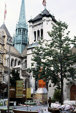 St. Pierre Cathedral Geneva Switzerland Photo 1978 35mm Slide Family Travel #2