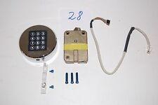 #28#Kaba Mas Umbauset Tresorschloss 361104 LCMX Chrom