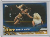 2017 Topps WWE Women's Division Blue /25 NXT-26 Ember Moon