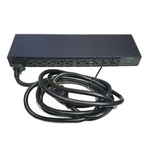 Server Tech Technology C-10H1-C20M Metered PDU 1U 120V 10x 5-20R Outlets L5-20P