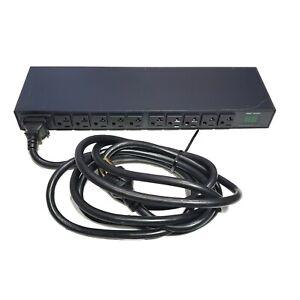 Server Tech Technology C-10H1-C20M Metered PDU 1U 120V 10x 5-20R Outlets L5-20P