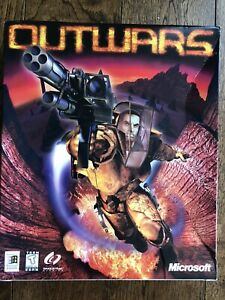 Outwars PC Action Game (Microsoft, 1998) Big Box Complete