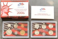 USA 2006 SILBER Proof Set San Francisco PP polierte Platte State Quarter 1c-$1