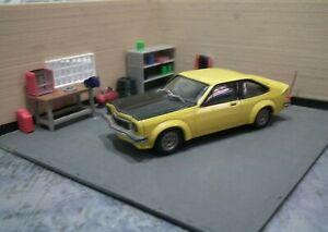 1/43 Scale Diorama Car Display, Custom Build.