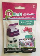 Nib miWorld Collector Pack with Shoes and Sunglasses