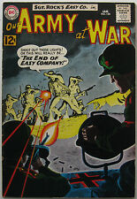 Our Army At War #126 (Jan 1963, DC), VFN-NM, 1st app. Canary, grey tone cover