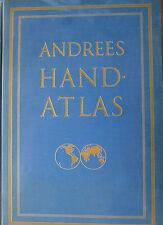 Andrees Handatlas, Landeskunde, Atlas, Atlanten, Zeitgeschichte, Landesgrenzen