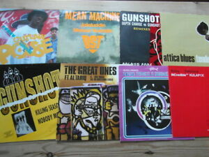 """A COLLECTION OF HOUSE,TRANCE,HIP-HOP,GARAGE 12"""" SINGLES x 8-2000's VG-EX-3"""