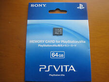 New PS VITA Memory Card 64 GB Japan Playstation PSvita PSV 64gb Free shipping
