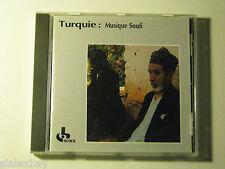 Turquie: Musique Soufi SUFI MUSIC CD Ocora France IMPORT Zikr Ilahi's Taksim x