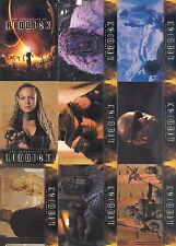 The Chronicles Of Riddick Movie 2004 Rittenhouse Complete Base Card Set Of 72