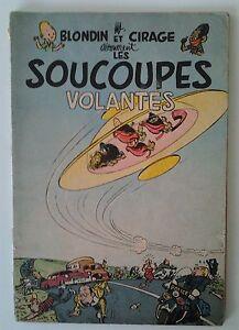 JIJE: BLONDIN ET CIRAGE DECOUVRENT LES SOUCOUPES VOLANTES (1956)