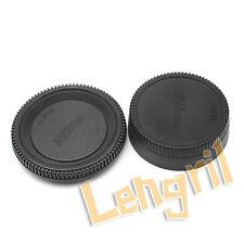 Lens Rear Cap and Body Cap For All Nikon F Lens and All Nikon Camera Body