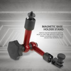 Adjustable Magnetic Gauge Stand Base Holder Digital Level Dial Test Indicator fy