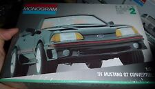 MONOGRAM 1991 FORD MUSTANG GT Convertible 1/24 Model Car Mountain FS