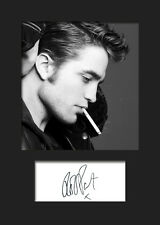 ROBERT PATTINSON A5 Signed Mounted Photo Print - FREE DELIVERY