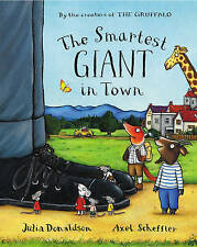 The Smartest Giant in Town By Julia Donaldson NEW (Paperback) Book RRP £6.99
