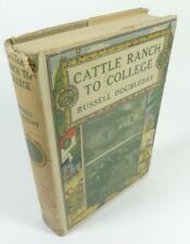 Cattle Ranch to College RUSSELL DOUBLEDAY (1899) EBL Boy Scout, Scarce Type-2 DJ