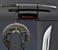 Hand Forge Japan Ninja Sect Shrine Samurai Sword Katana 1095 Steel Sharp Blade