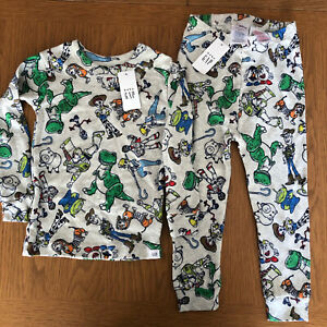 Disney Toy Story Gap Pyjamas - New With Tags - Size 2 Years - Slim Fit