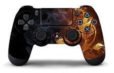 PS4  Playstation 4 Controller Fire Pattern Skin/Sticker