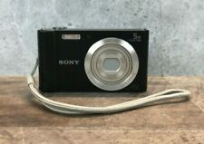 Sony Cybershot DSC-W800 Camera 20.1mp 5x Optical Zoom - no battery/memory card