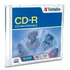 Verbatim CD-R 700MB 52X 1-Pack Jewel Case