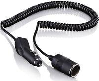 12V Kfz Spiralverlängerungskabel Verlängerungskabel Kabel Stecker Verlängerung