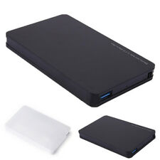 "4TB USB 3.0 SATA External 2.5"" HDD SSD Hard Drive Enclosure Disk Shell Box New"