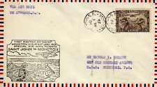 CANADA 1ers vols first flights airmail 18