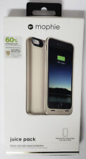 """Mophie Juice Pack 60% Battery Case 2600mAh for Apple iPhone 6 6S PLUS 5.5"""" Gold"""