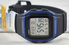 Casio W96H-2AV Men's Watch Digital Blue Multifunction Sport 10 Year Battery New
