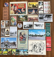 New ListingLot Of Over 28 Vintage Junk Journal Collector Items And Other Ephemera!