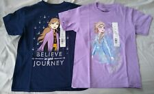 Girls T-Shirt THE LITTLE MERMAID Sequins ARIEL SEBASTIAN Mint XS S M L XL XXL