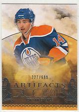2010 10-11 Artifacts #231 Jordan Eberle RC rookie 227/699 Edmonton Oilers