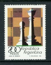 Argentina Scott #1200 MNH National Chess Olympics CV$4+