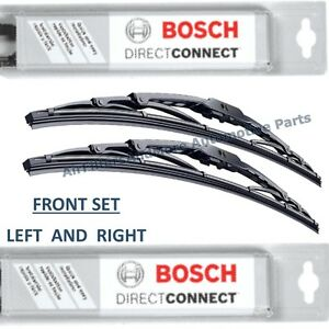 "BOSCH DIRECT FIT WIPER BLADES FRONT LEFT+RIGHT 26""/21"""