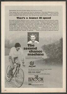 JEUNET 10-Speed Cycle - 1974 Vintage Print Ad