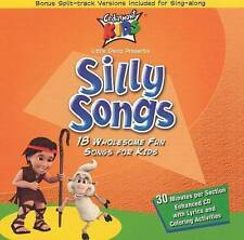 Silly Songs (Cedarmont) 18 Sing-Along song titles (DVD,In English and Spanish)